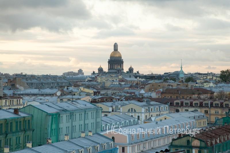 крыша с видом на Исаакиевский собор