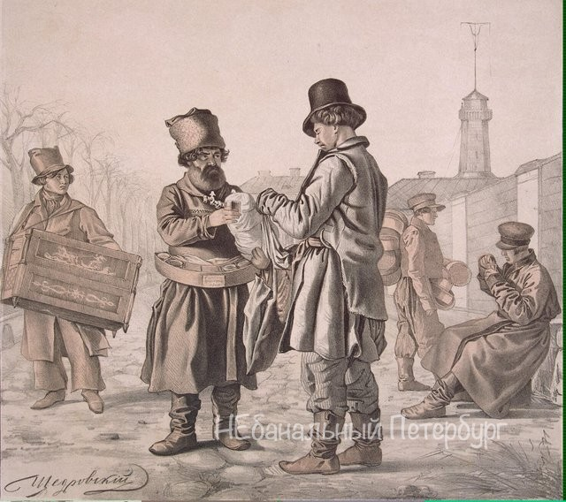 Брюхо Петербурга - как торговали в Петербурге