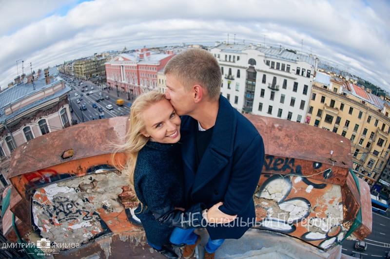 Экскурсия по крышам Петербурга