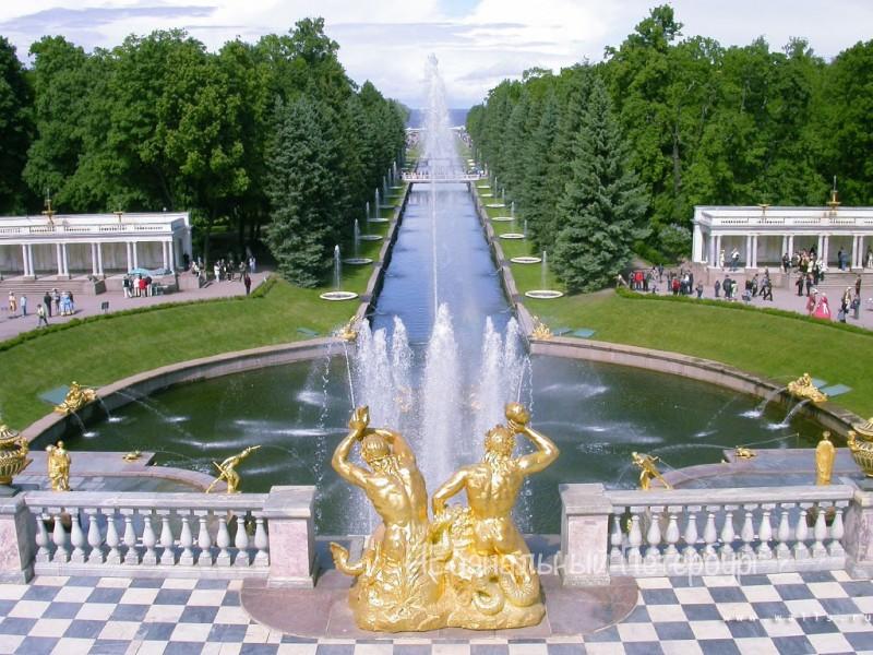 Экскурсия в Петергоф(Большой дворец)