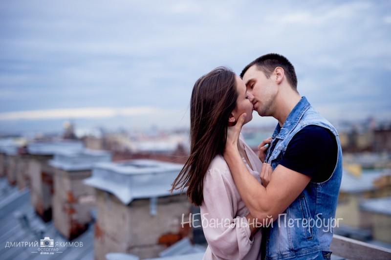 романтик для двоих на крыше