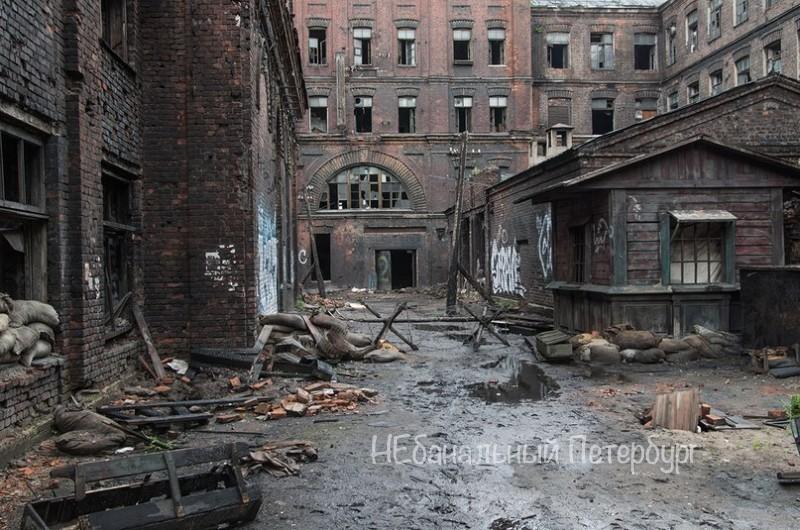 Экскурсия на заброшенный завод