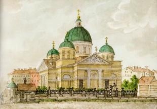 По изувеченным церквям