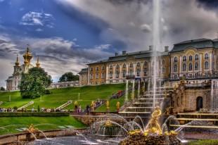 Петергоф (Малый дворец и Фонтаны)