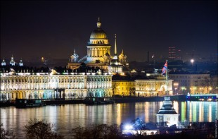 Ночная экскурсия по Санкт-Петербургу с водной прогулкой