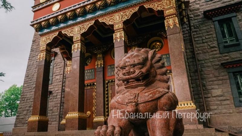 Экскурсия в Дацан