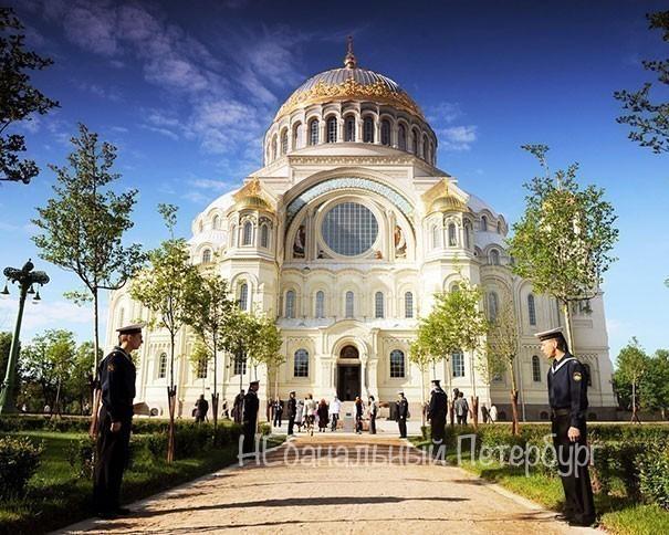 Большой Кронштадт(Морской собор+форт Константин+музей Маяков