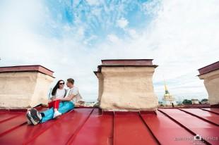 Пакетный тур дворы-парадные-крыша(комбо)