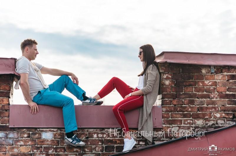 Индивидуальная экскурсия по крышам с видом на Неву