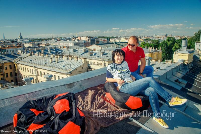 прогулка по крышам для двоих