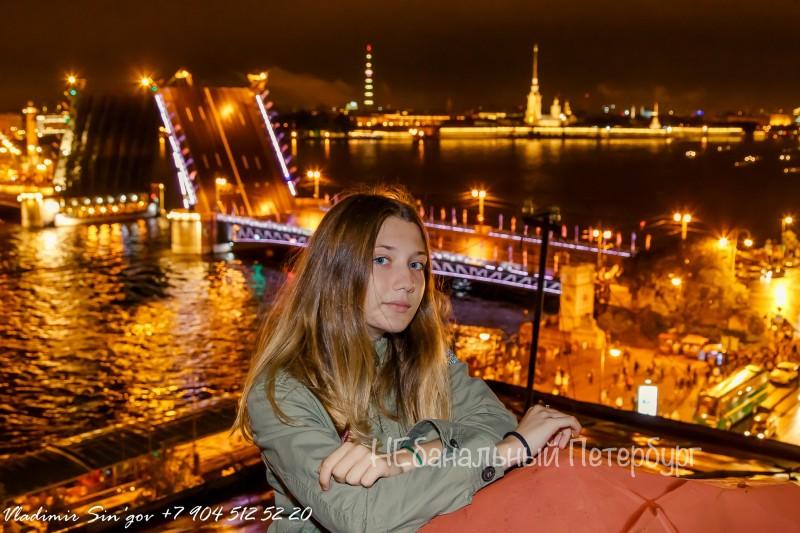 Разводка мостов с крыши