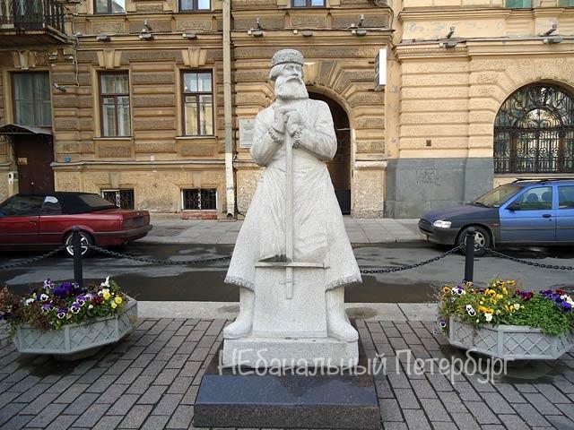 Необычные Памятники Петербурга