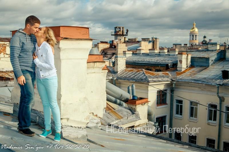 экскурсия по крышам питера