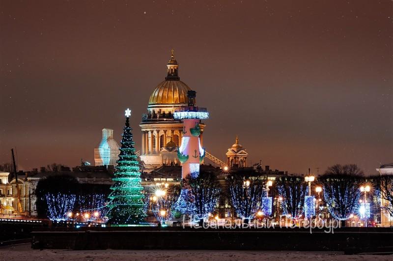 Новогодний Петербург со Снегурочкой