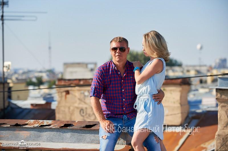 Экскурсия по крышам с видом на Невский проспект