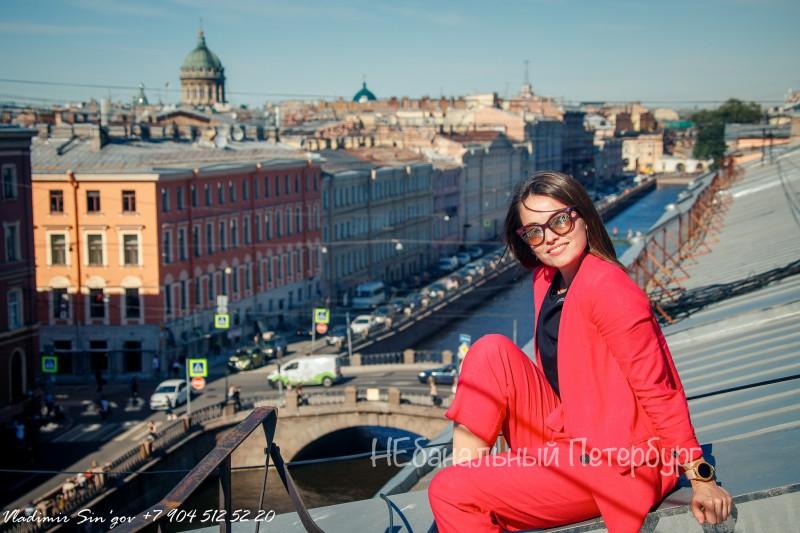 Экскурсия по крышам с видом на Казанский собор