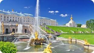Петергоф (Большой дворец+Фонтаны)