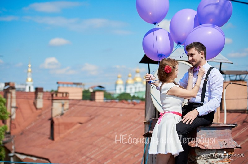 Фотопрогулка по крышам Петербурга