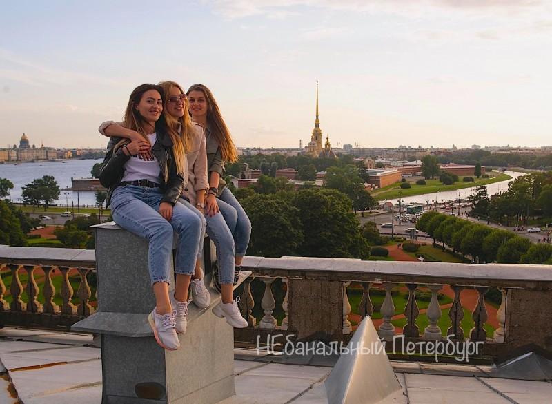 Экскурсия по крышам у Петропавловской крепости