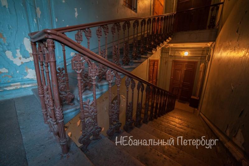 Экскурсия по парадным лестницам