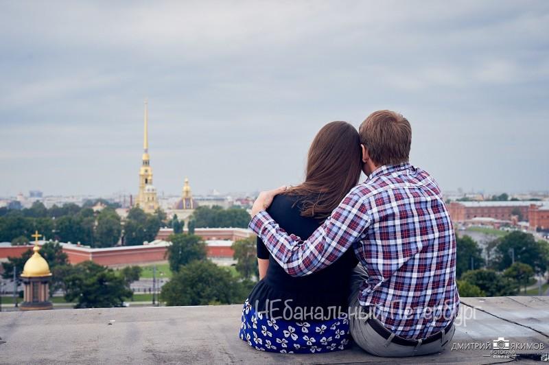Экскурсия по крышам для двоих