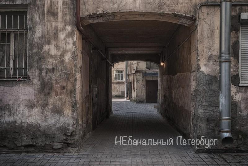 Дворы-лабиринты Петроградской