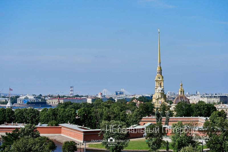 крыша у Петропавловской крепости