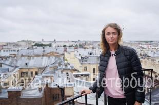 Экскурсия по крышам от метро Чернышевская