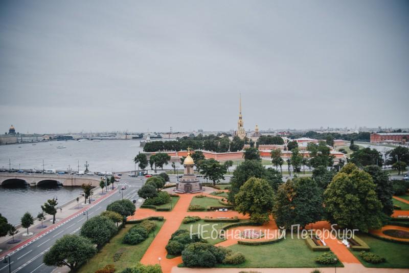 Экскурсии по крышам Петербурга